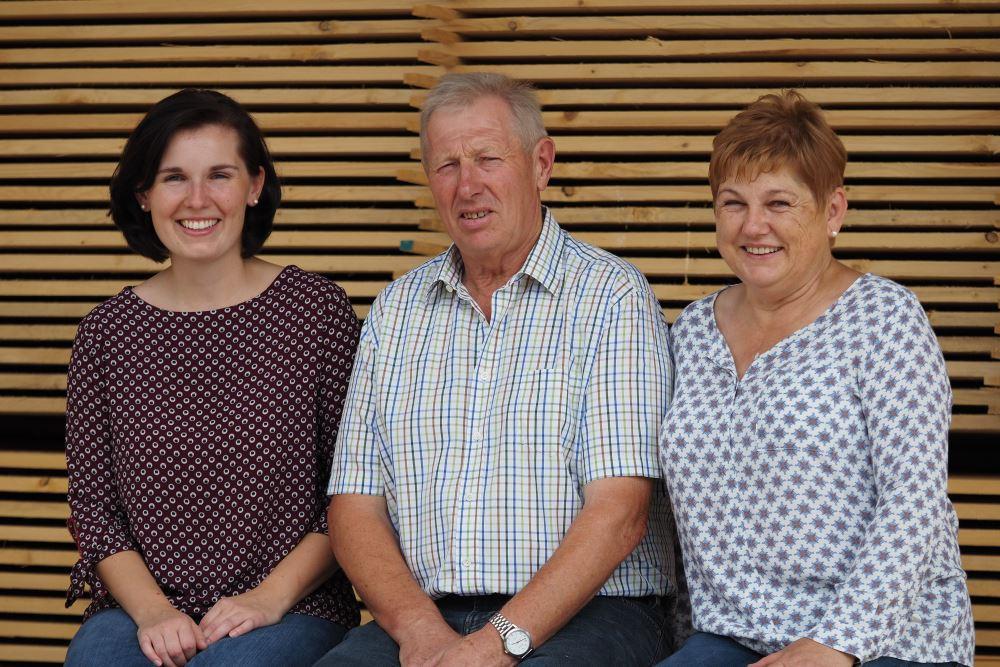 Familie Kraxberger - Experten in Sachen Holz